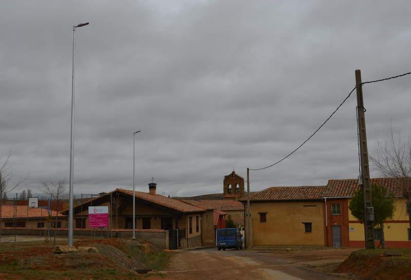 Alumbrado público de la pedanía de Alcuetas (León)